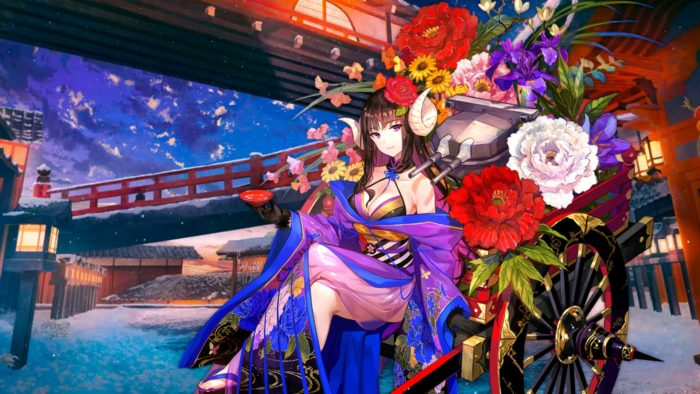 駿河「百花の慶雲」